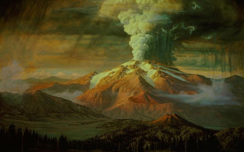 mazama-eruption